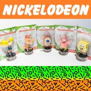 Complete Set of 5 Nickelodeon Figurines